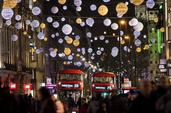 christmas lights london # 10
