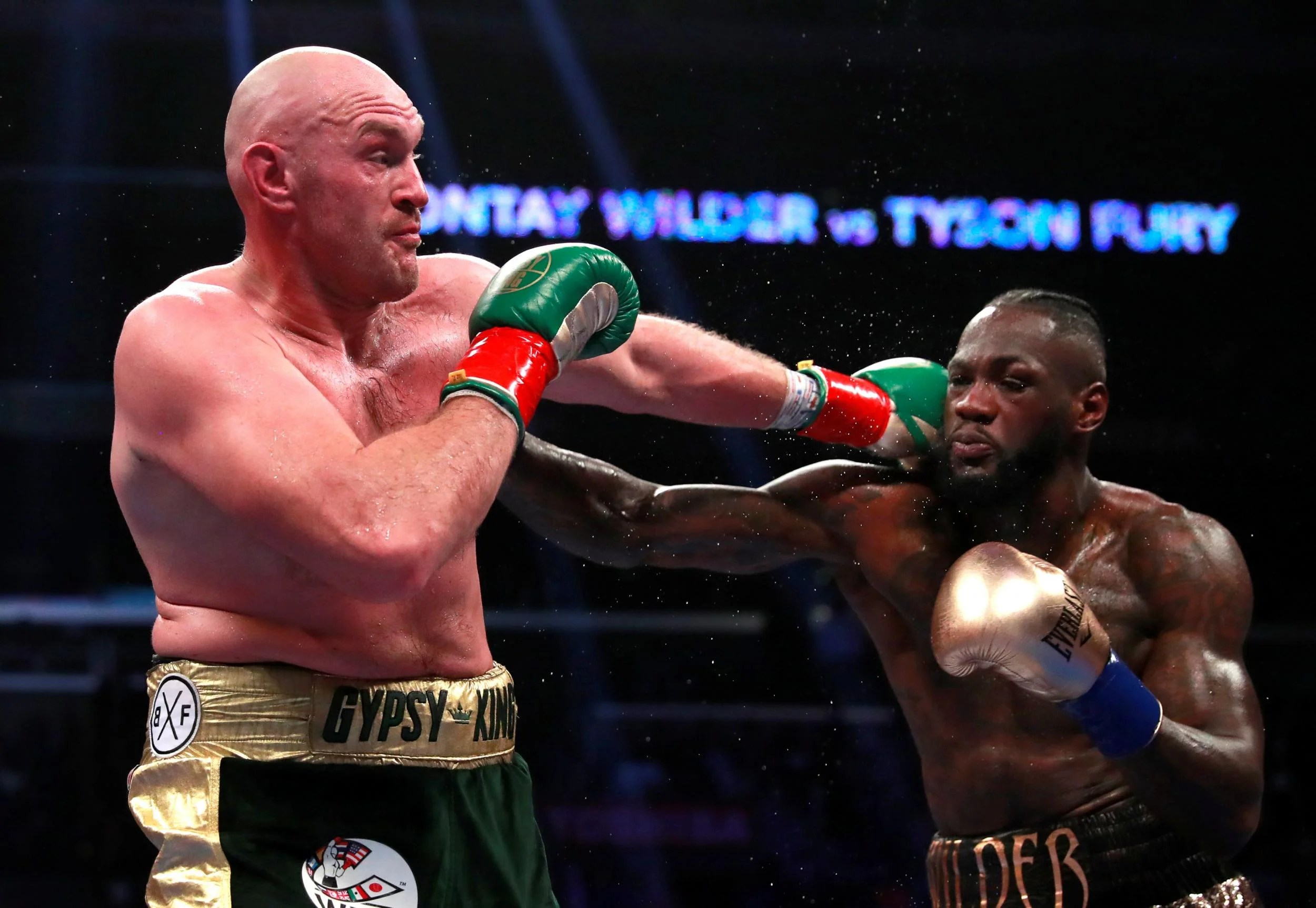 Tyson Fury S Espn Deal Deontay Wilder And Anthony Joshua