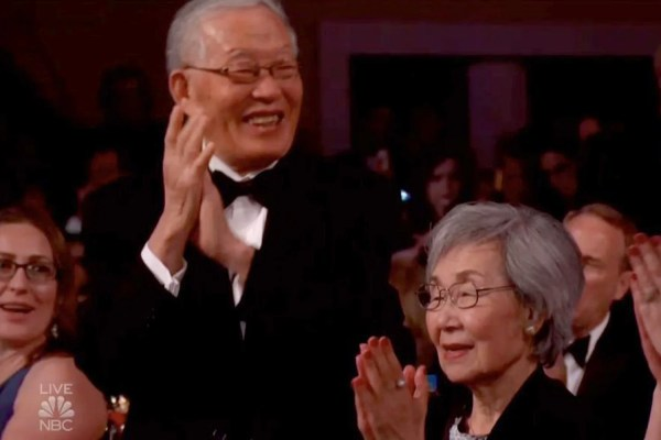 Sandra ' Proud Parents Win Golden Globes With 'precious' Applause London Evening Standard