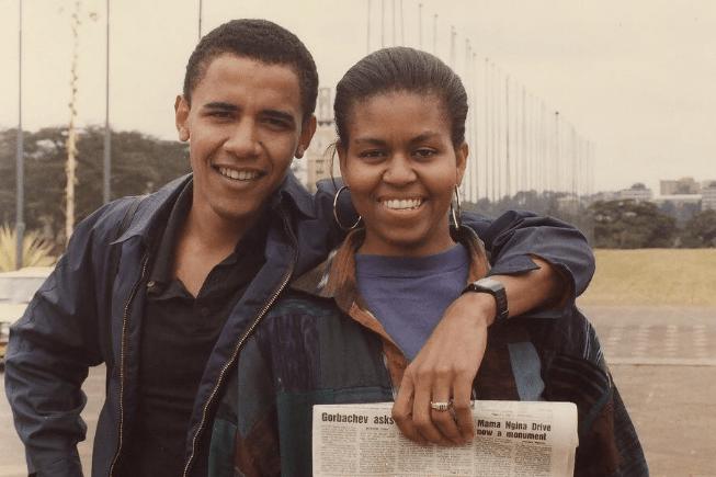 Image result for barack obama michelle obama
