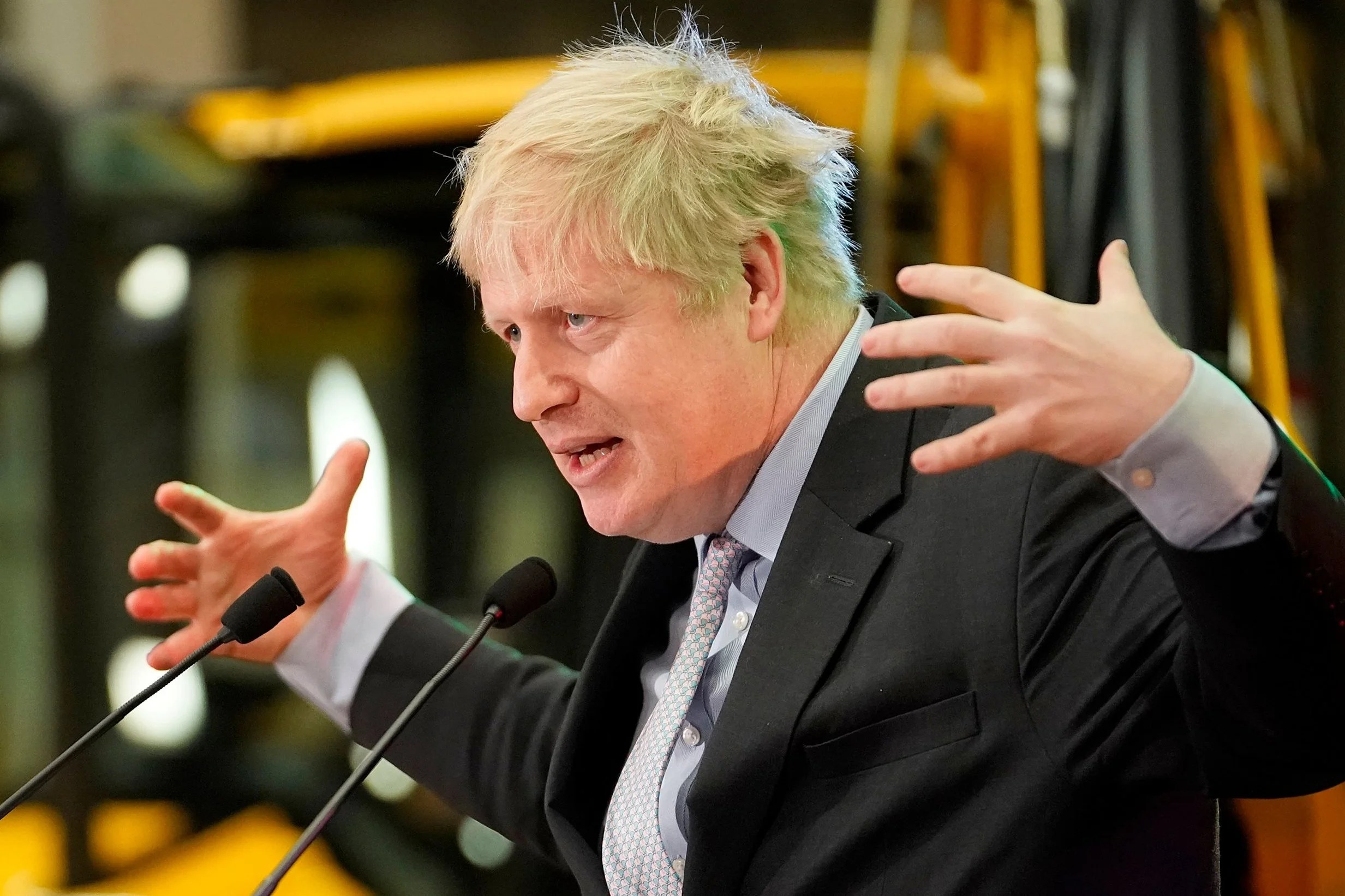 borisjohnson1801 Boris Johnson declares cancelling Brexit would be 'utterly pathetic' as he writes off Theresa May's failed deal