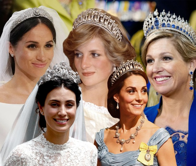 The Best Royal Tiaras Meghan Markle Princess Diana And Kate Middletons Bridal Jewels And Their History London Evening Standard
