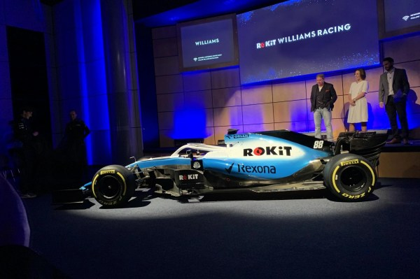 Rokit Williams Racing F1 Team Signs Title Sponsorship