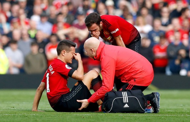 Image result for man u injury