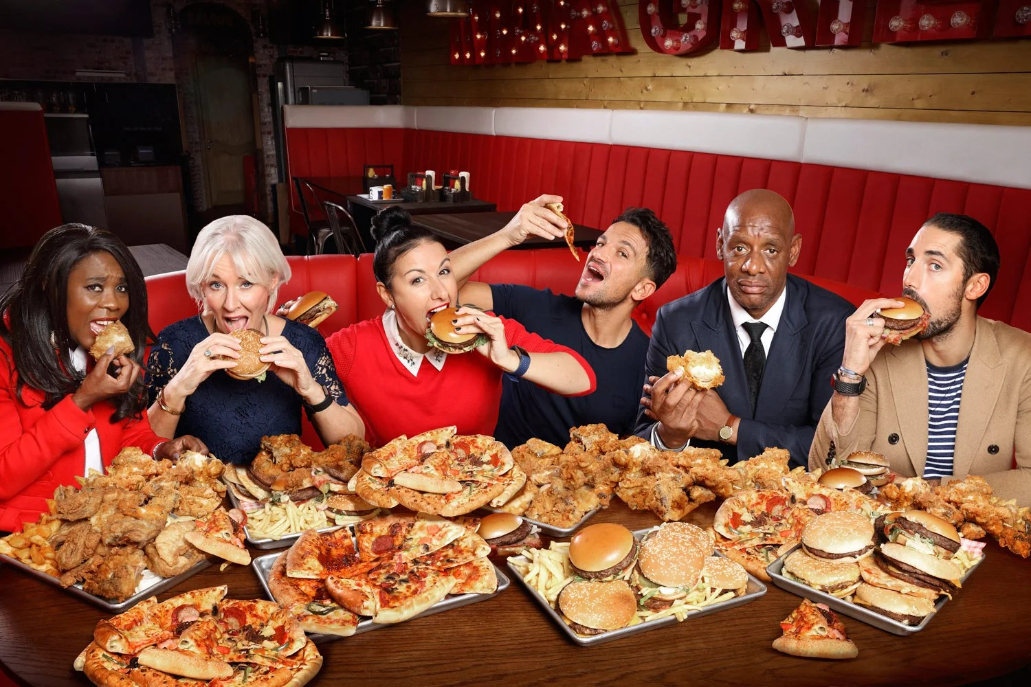 The Junk Food Experiment Celebrities Love A Pizza The