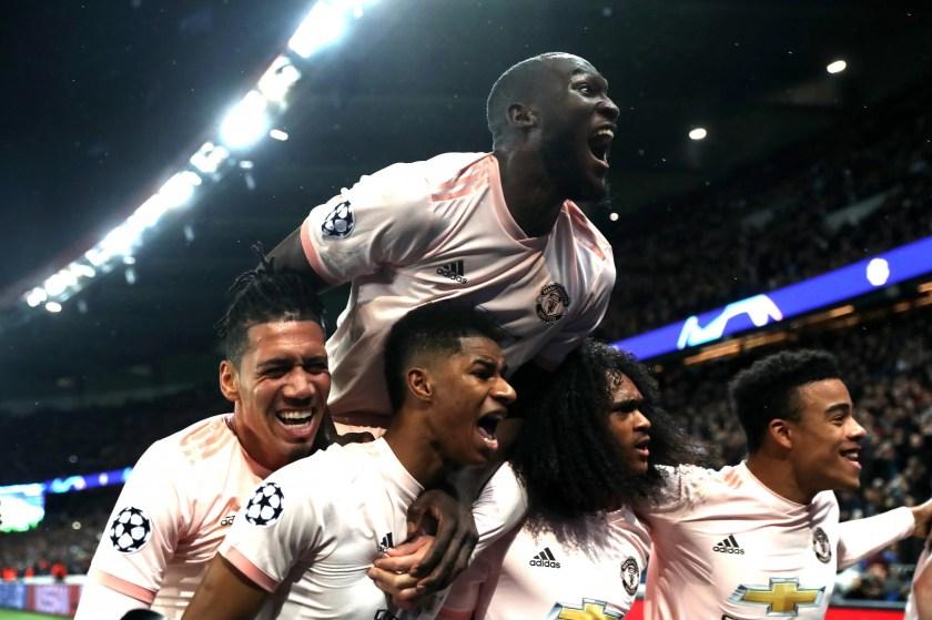 Hasil gambar untuk united comeback against psg