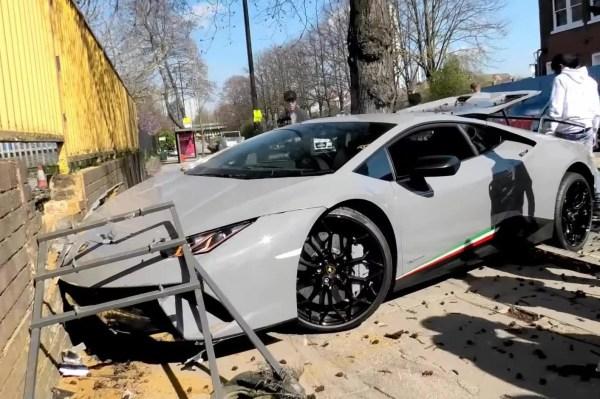 Lamborghini Truck Crash Year Of Clean Water
