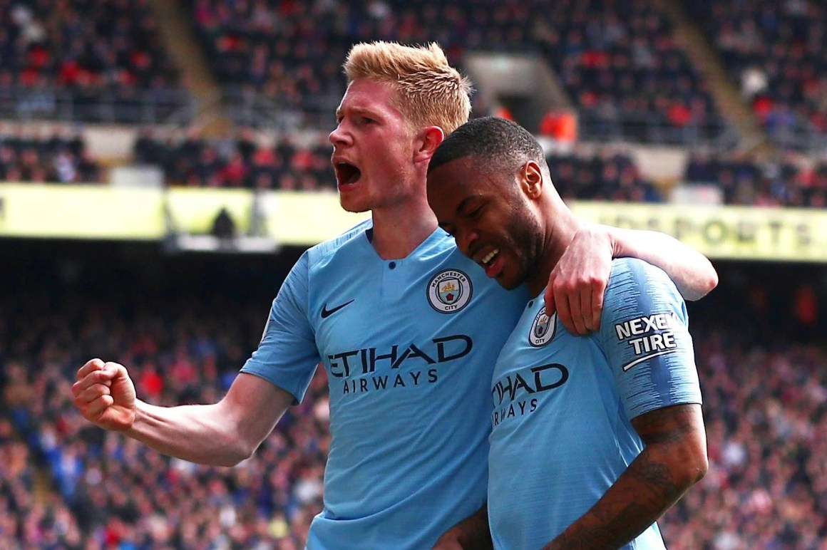 Kevin De Bruyne: I thought Raheem Sterling 'was a bit of a d ...