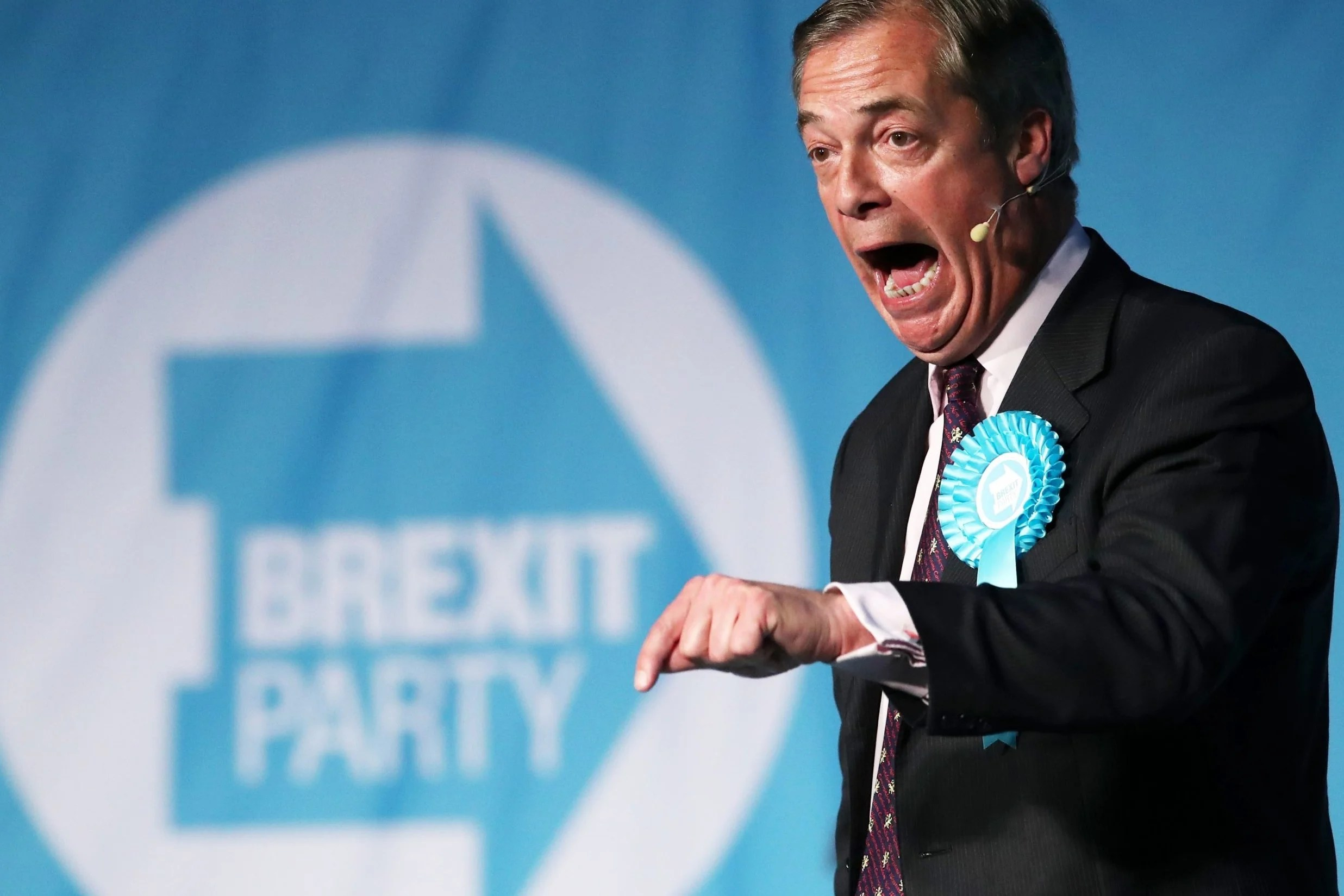 BrexitParty1605a Brexit Party logo 'cleverly designed to tell voters to back Farage'