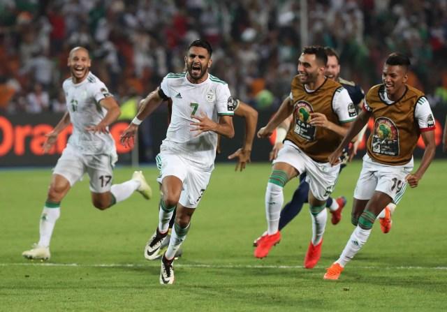 Algeria in the final thanks to a Mahrez winner on Sunday.