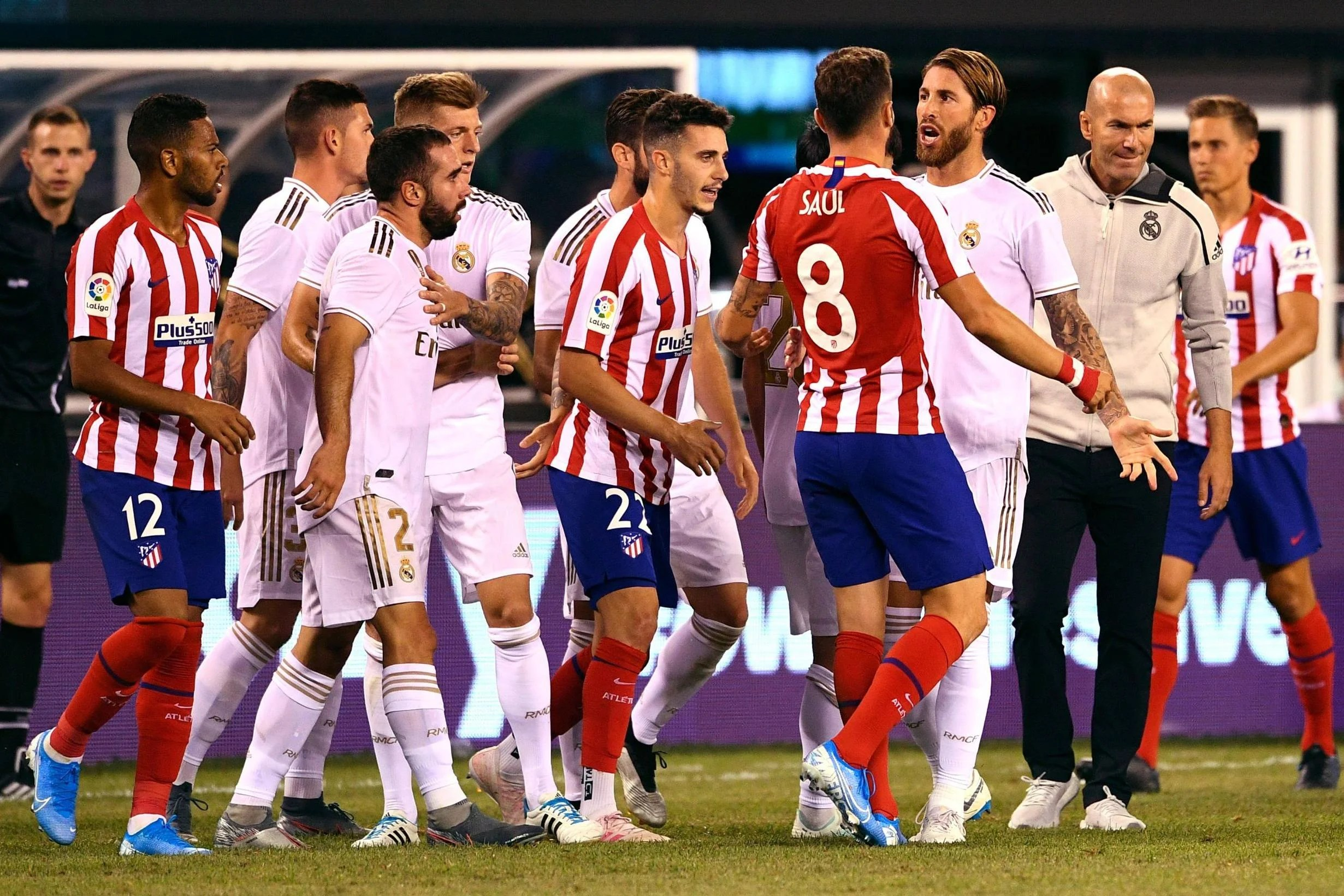La Liga Real Madrid Vs Atletico Madrid Preview
