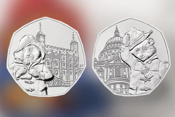 paddington bear 50p coins # 33