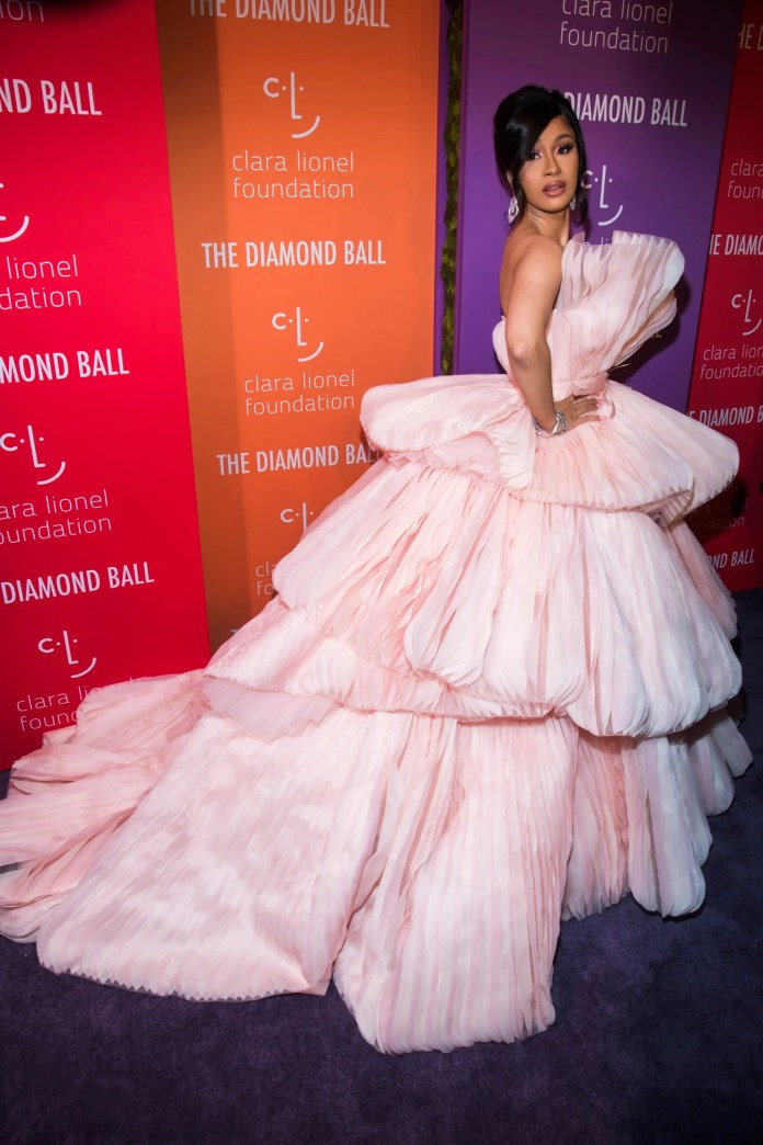 Image result for fashion at the Diamond Ball 2019