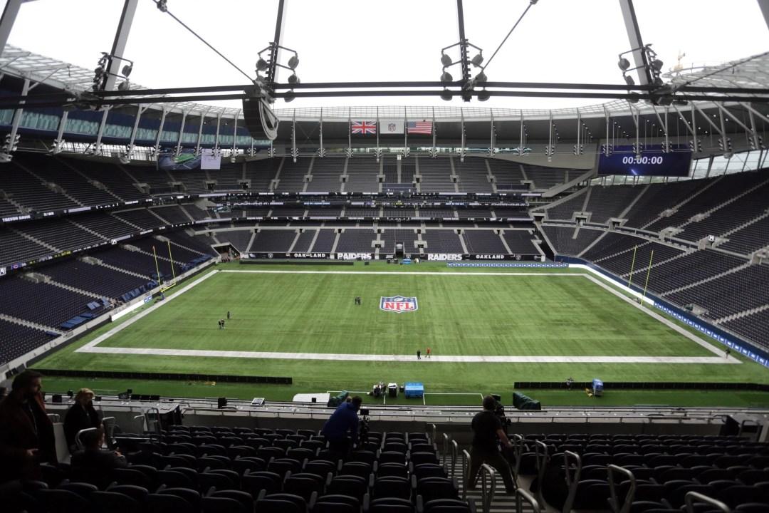 Image result for tottenham hotspur stadium nfl