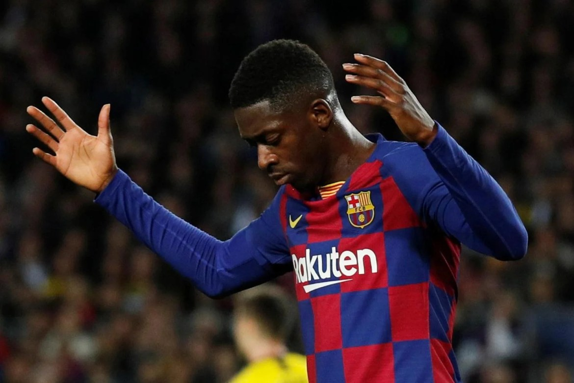 Ousmane Dembele back in Barcelona training but unlikely to feature against  Napoli in Champions League | London Evening Standard | Evening Standard