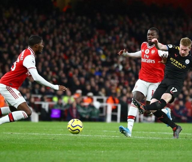 Arsenal   Man City Live Stream Score And Premier League