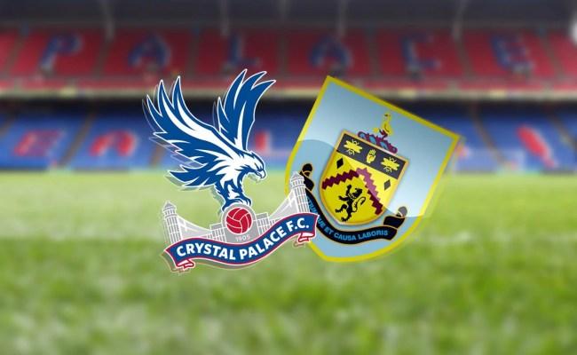 Crystal Palace Vs Burnley Premier League 2020 Preview