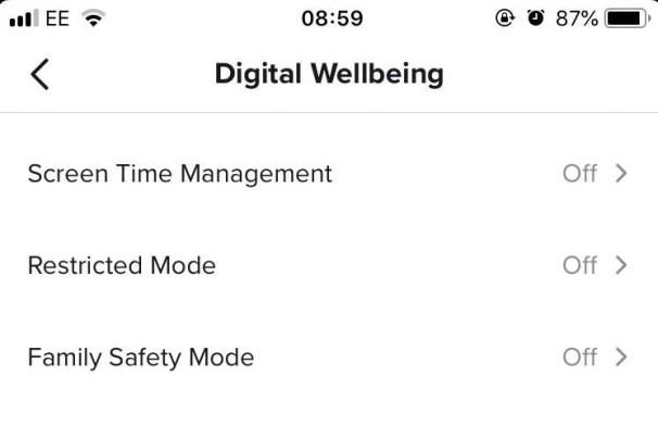 tik tok privacy wellbeing tab 200219 - تطبيق TikTok يتيح للآباء التحكم بزمن استخدام أبنائهم للتطبيق الآن