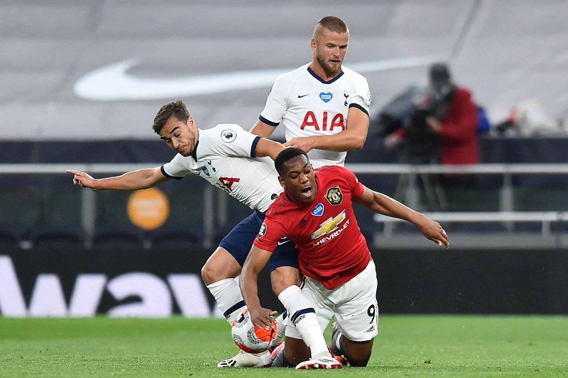 Latest Tottenham vs Man United pictures: Kane, Rashford ...