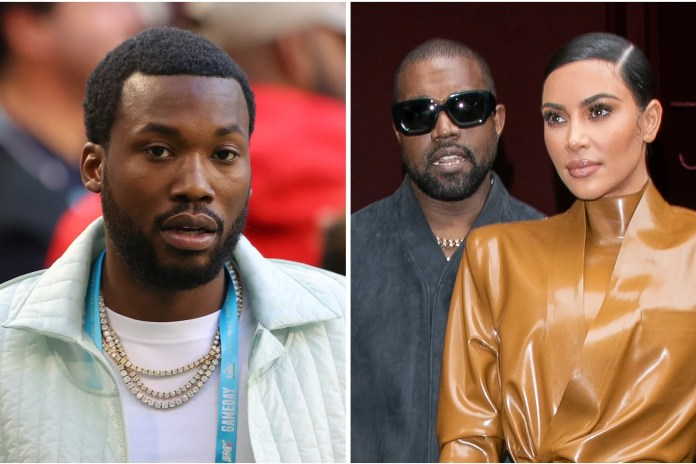 Kanye West claims wife Kim Kardashian was 'out of line' for Meek ...