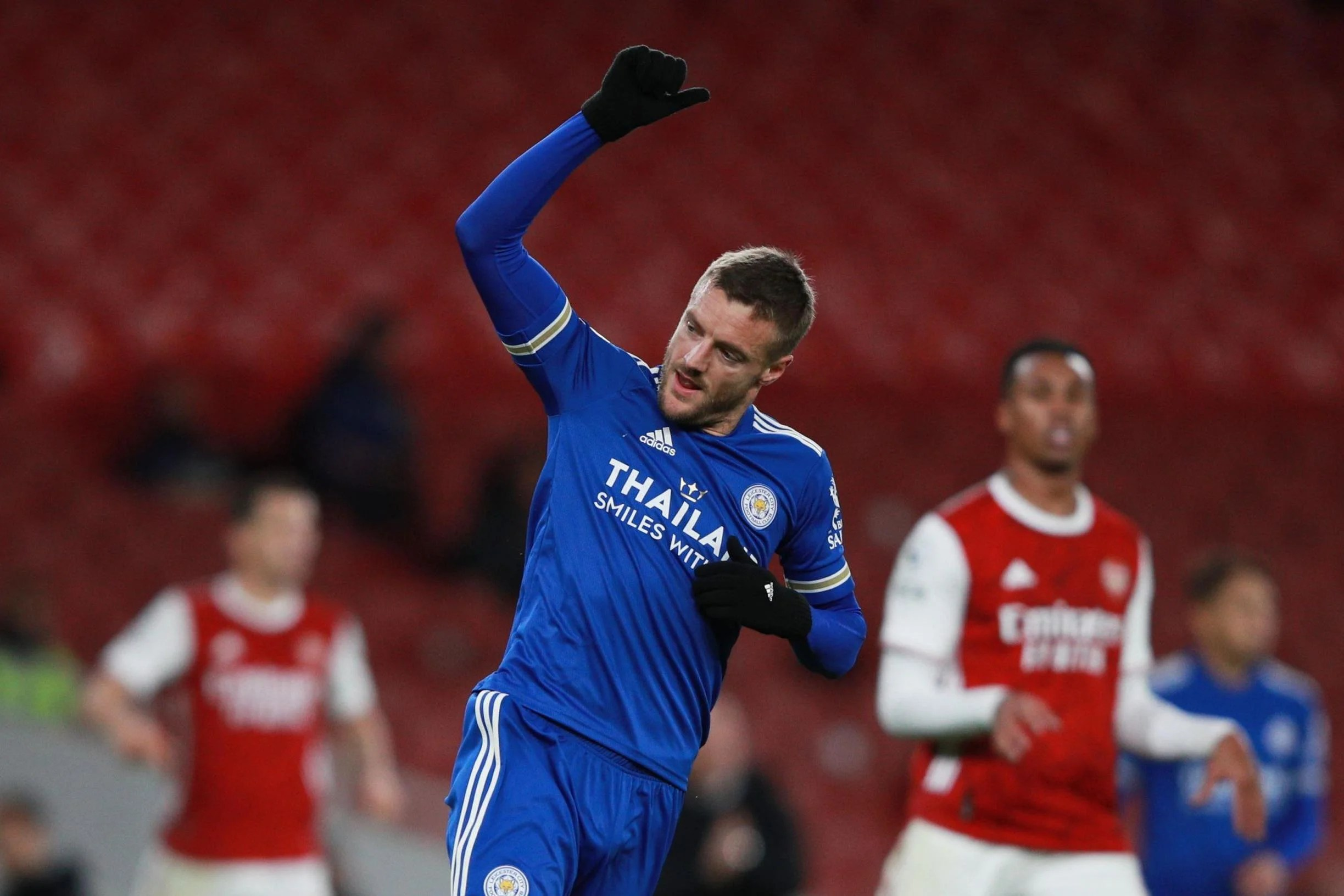 arsenal fc 0 1 leicester city live