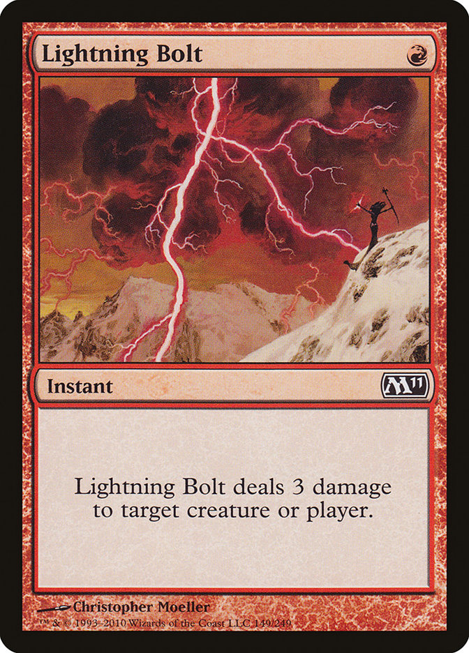 Image result for lightning bolt mtg