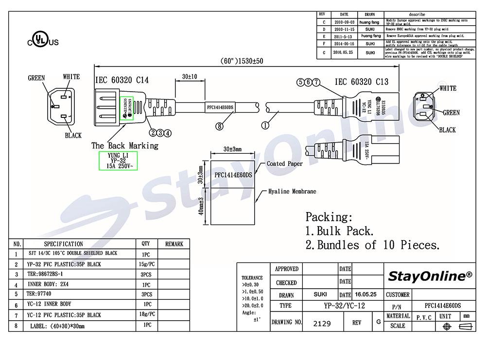 Wiring Diagram Iec 320 Connector