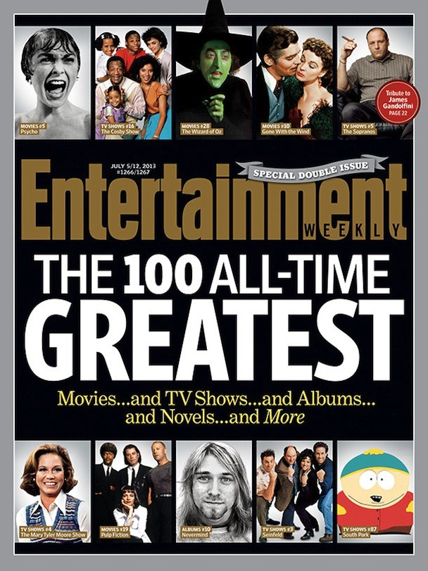 entertainment weekly s 100