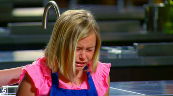Image result for masterchef junior kids crying