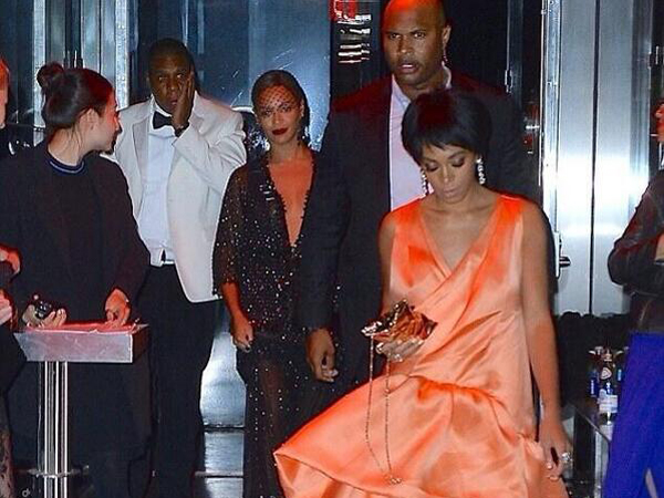 Beyoncé Jay Z Solange Release Statement About Elevator