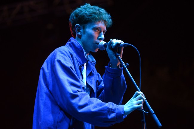 SANTA ANA, CA - OCTOBER 22:  Singer Archy Marshall of the band King Krule performs onstage during the Beach Goth Festival at The Observatory on October 22, 2016 in Santa Ana, California.  (Photo by Scott Dudelson/Getty Images)