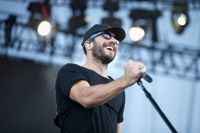 LAS VEGAS, NV - SEPTEMBER 24:  Singer-songwriter Sam Hunt performs onstage during the 2016 Daytime Village at the iHeartRadio Music Festival at the Las Vegas Village on September 24, 2016 in Las Vegas, Nevada.  (Photo by Isaac Brekken/Getty Images for iHeartMedia)
