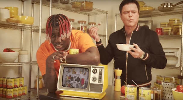 Lil Yachty Teams With Donny Osmond For Chef Boyardee