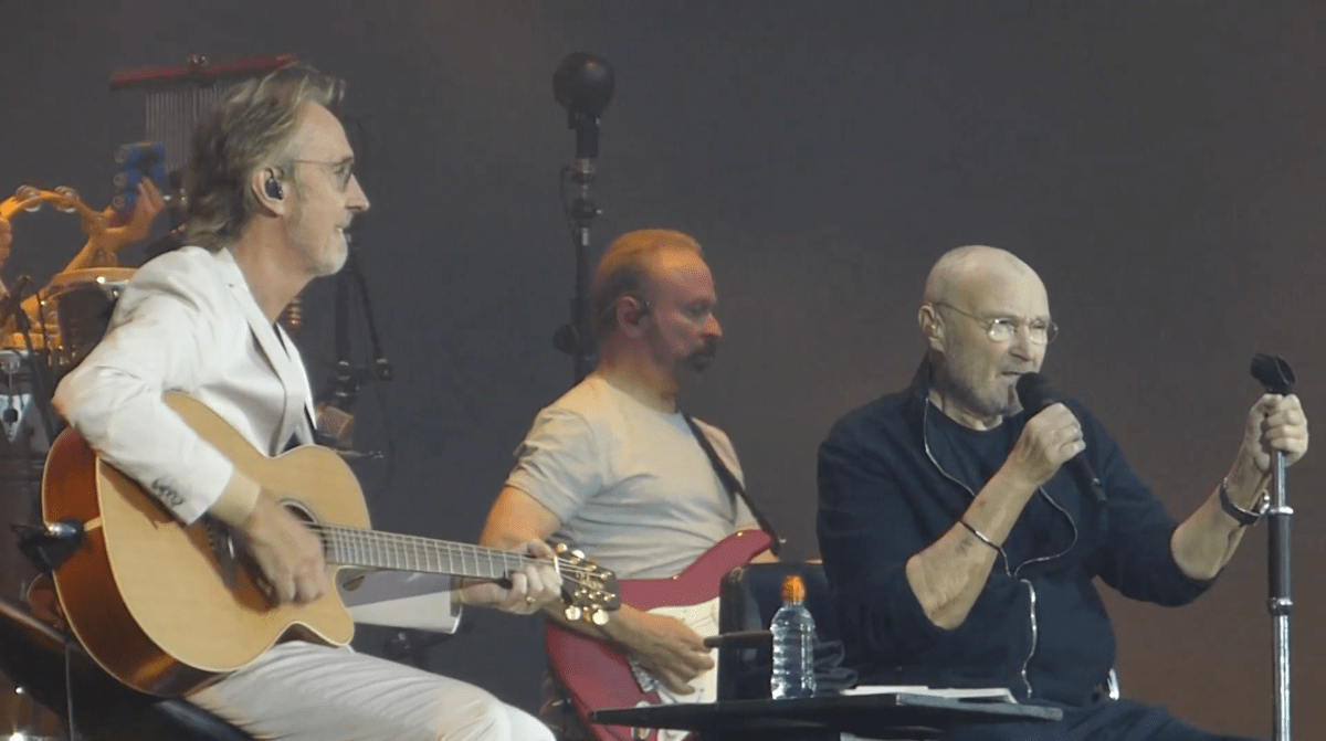 Phil Collins & Mike Rutherford