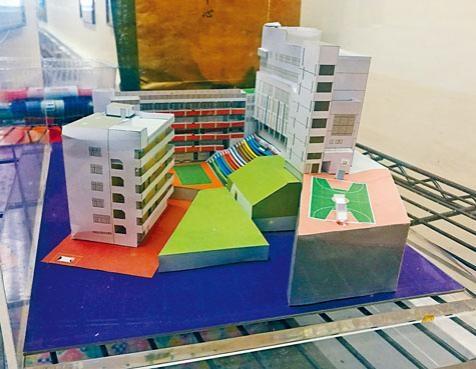 大光德萃書院現正進行裝修工程,校舍有逾三十個課室。