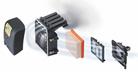 Système de filtration de l'air avec pré-séparation