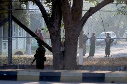 Myanmar lawmakers say they are under guard at residences ...