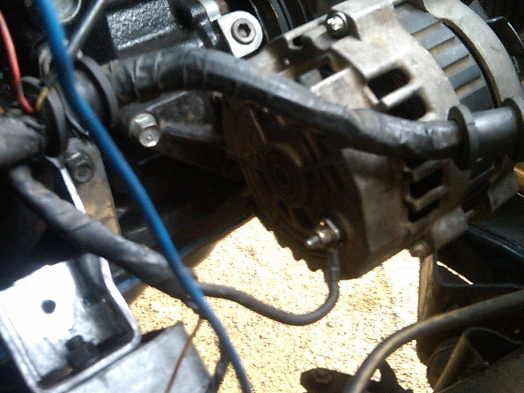 hight resolution of how to wire a gm alternator to b2200 street sourcethread post photo