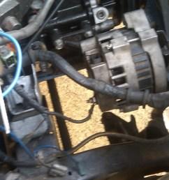 mazda b2000 alternator wiring wiring diagram used how to wire a gm alternator to b2200 street [ 1024 x 768 Pixel ]