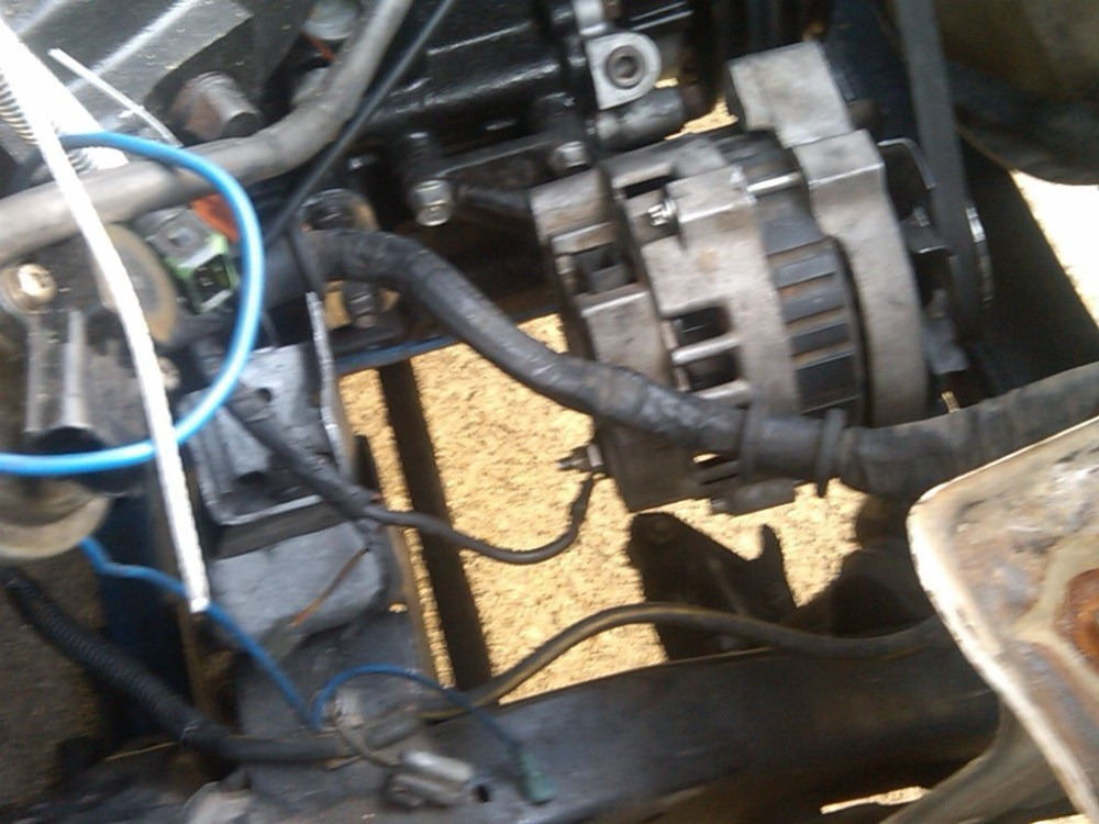 medium resolution of mazda b2000 alternator wiring wiring diagram used how to wire a gm alternator to b2200 street