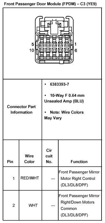 chevy wiring diagram rheem gas furnace 04 2500hd mirror - street source