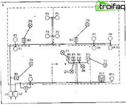 apartment wiring diagram electrical outlet wiring diagram