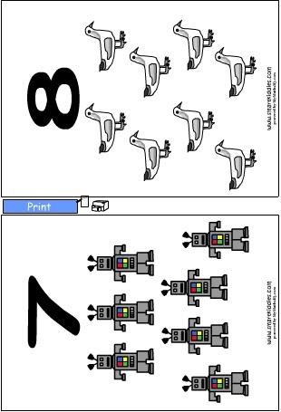 Counting1-10ChartsD.swf, Mathematics skills online
