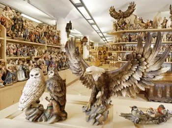 Schnitzkunst aus Grden Handwerk Kultur und Traditionen