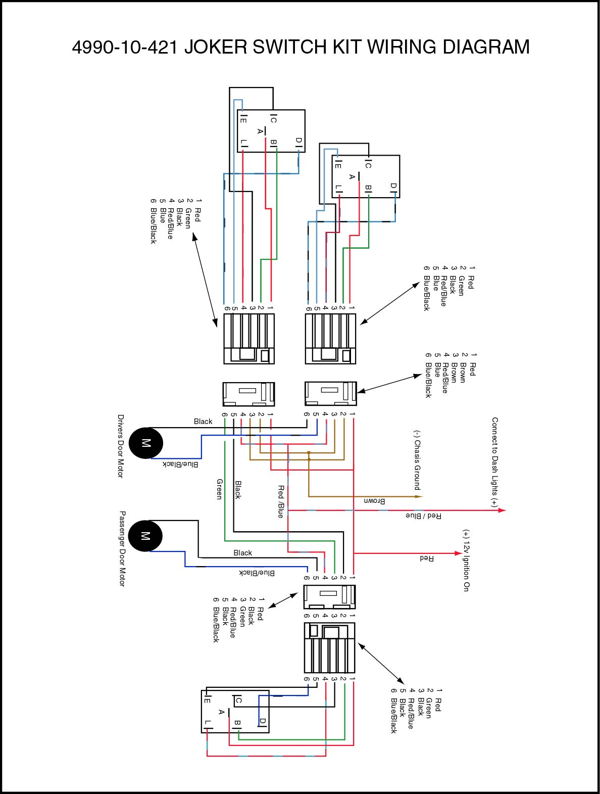 wiring diagram for aftermarket power windows 4l60e electric life switch rocker momentary joker