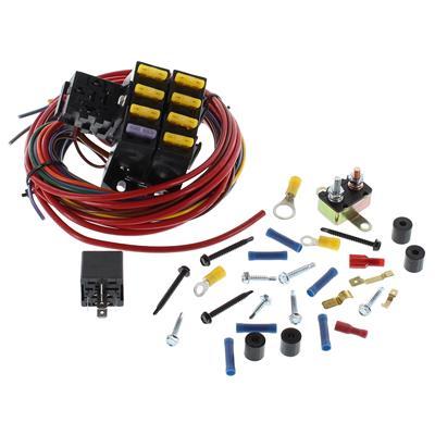 painless wiring fuse block diagram wiring diagram