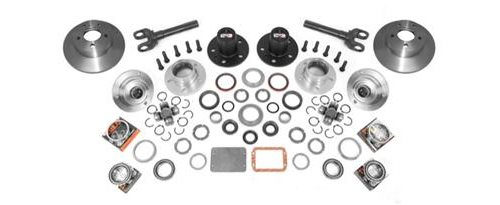 Alloy USA Hub Conversion Automatic to Manual Fits Jeep Kit