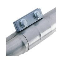 Borla 18006 Exhaust Clamp Band-Style Slip Joint Stainless ...