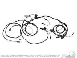 Scott Drake Headlight Wiring Harnesses C6ZZ-14290-ALL
