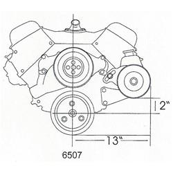 Tuff Stuff Performance Saginaw Power Steering Brackets